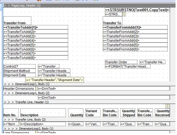 How to Define SetData and GetData in RTC Reports in Dynamics NAV